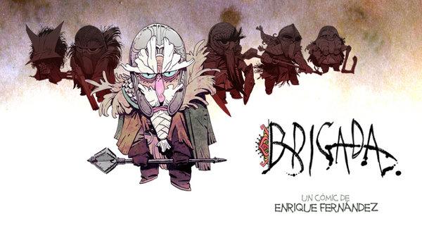 brigada comic crowdfunding