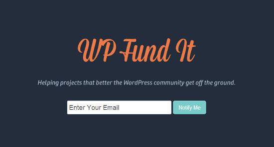 wordpress crowdfunding
