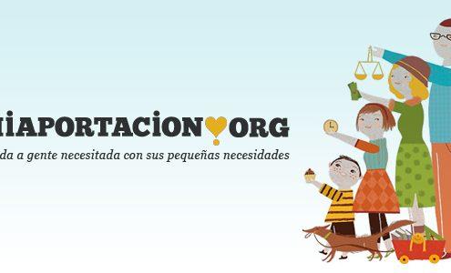 crowdfunding y solidaridad miaportacion.org