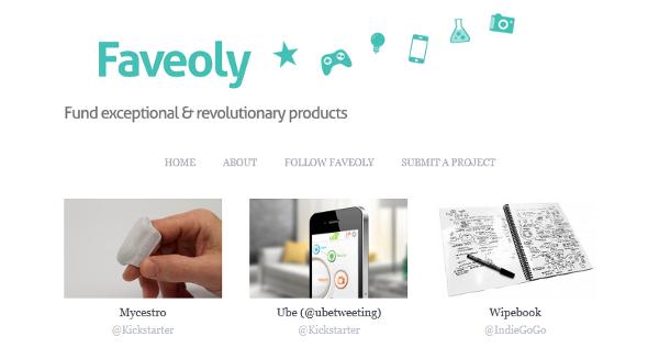 faveoly crowdfunding