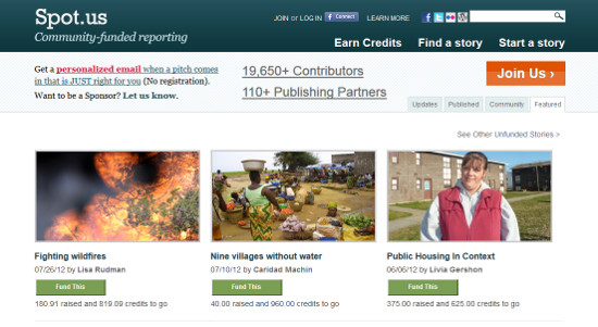 spot.us periodismo crowdfunding