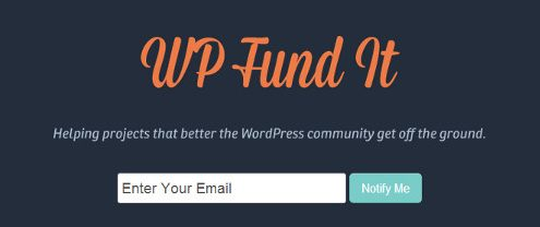 wordpress crowfunding