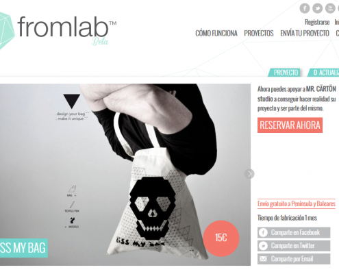 fromlab crowdfunding productos