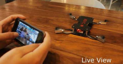 dron crowdfunding